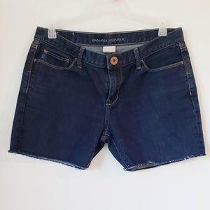 Banana Republic jean shorts size 29